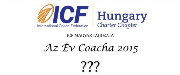 'Az Év Coacha 2015' pályázati kiírás
