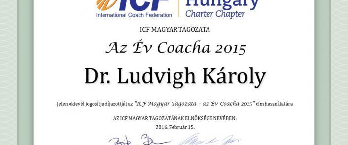"""Kihirdetésre került az """"Év Coacha 2015"""" pályázat nyertese!"""